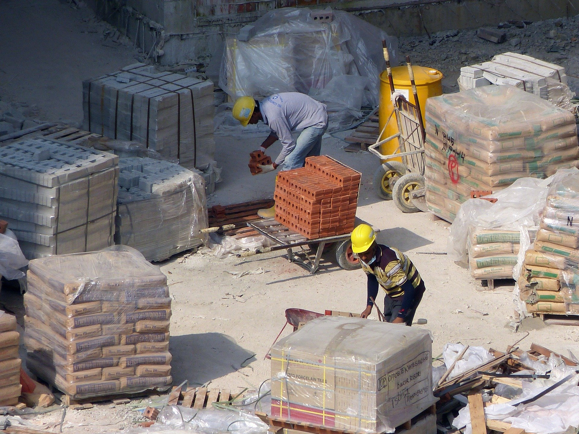 建築現場・工事現場の段ボール格安回収について